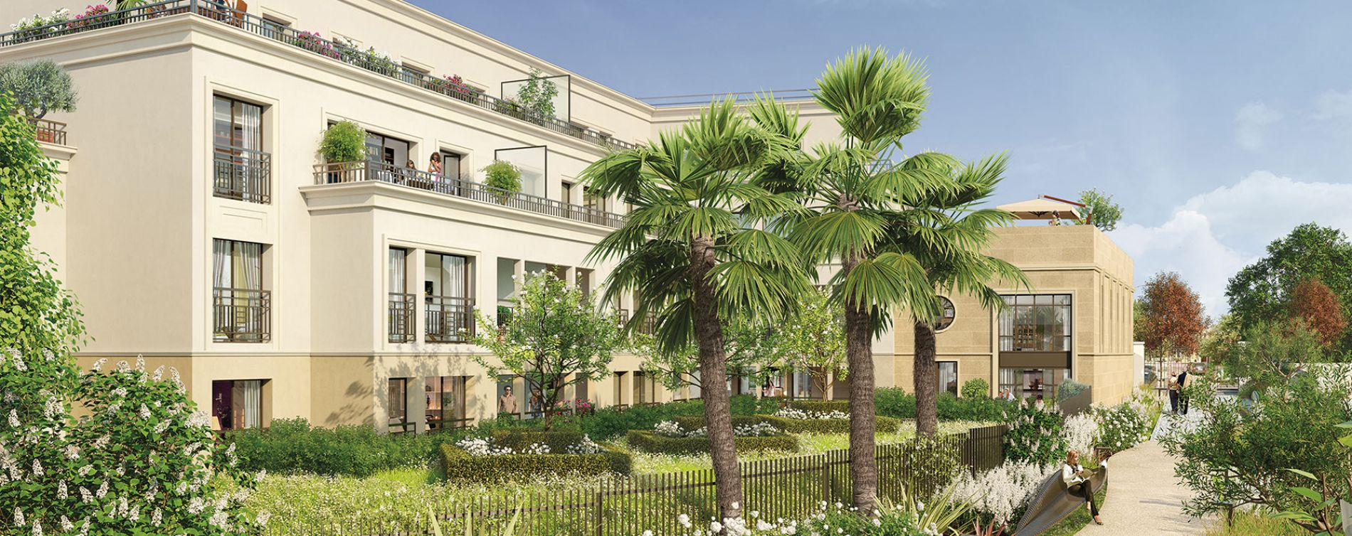 Thiais : programme immobilier neuve « Le Majestic »