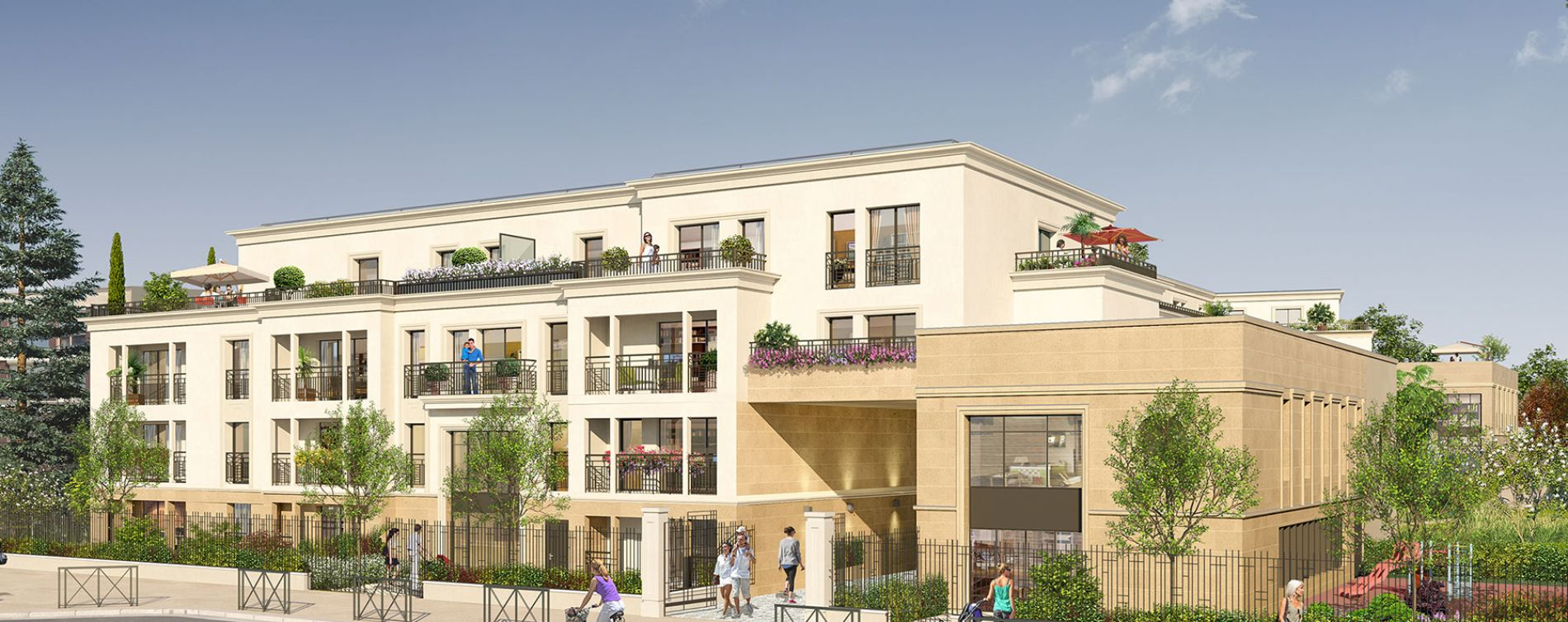 Thiais : programme immobilier neuve « Le Majestic » (2)