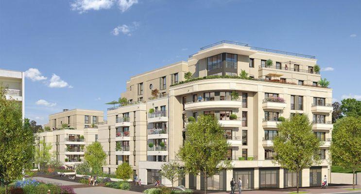 Thiais : programme immobilier neuf « L'Intemporel Thiais » en Loi Pinel