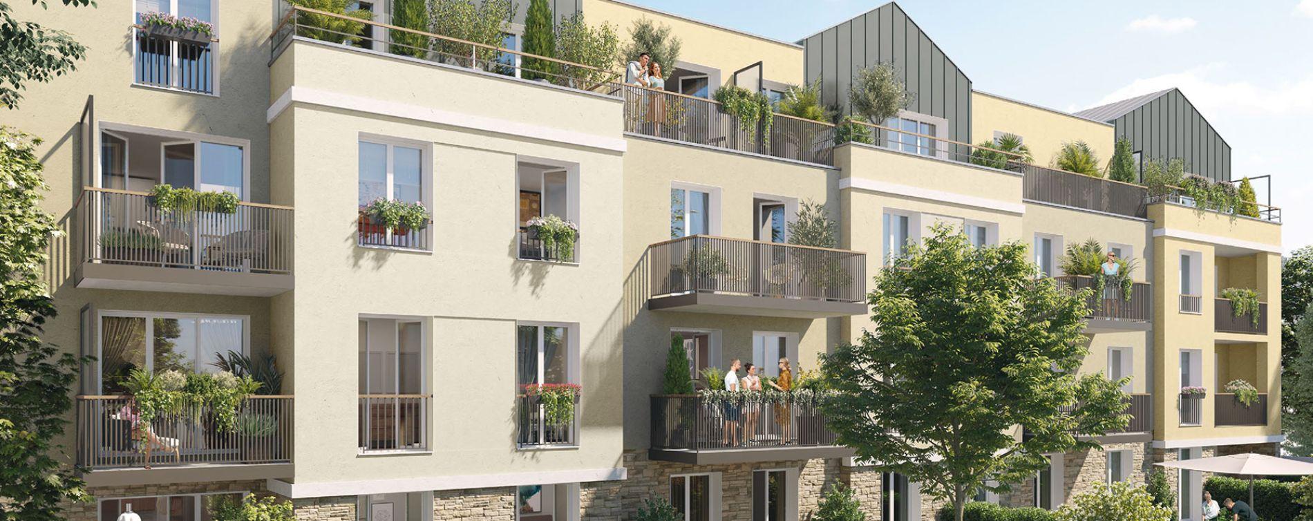 Villeneuve-le-Roi : programme immobilier neuve « Villa Normande » (2)
