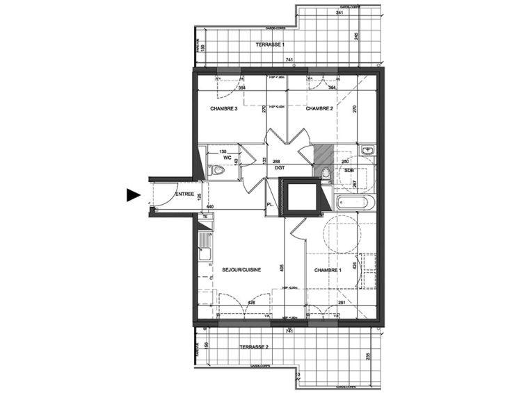 Appartement t4 coeur villiers villiers sur marne n157 for Casa villiers sur marne