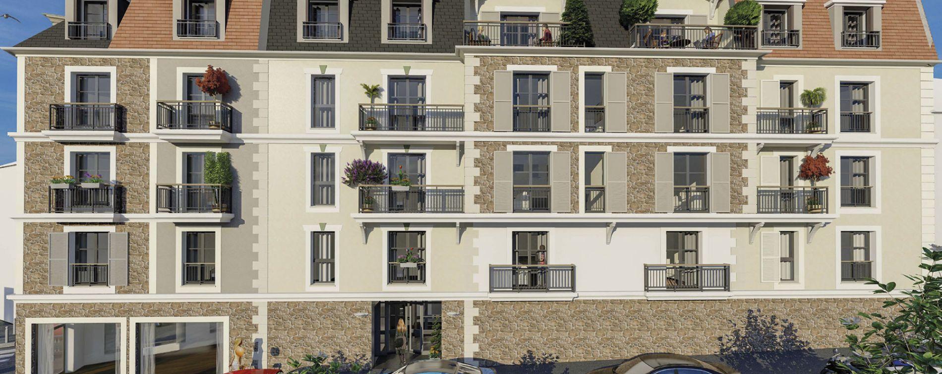 Villiers-sur-Marne : programme immobilier neuve « Le 5 » (2)
