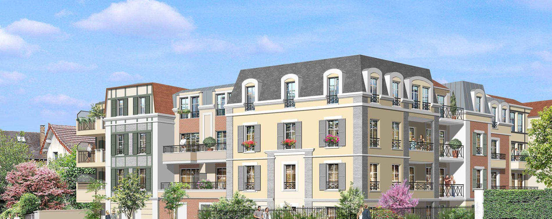 Villiers-sur-Marne : programme immobilier neuve « Partition » en Loi Pinel