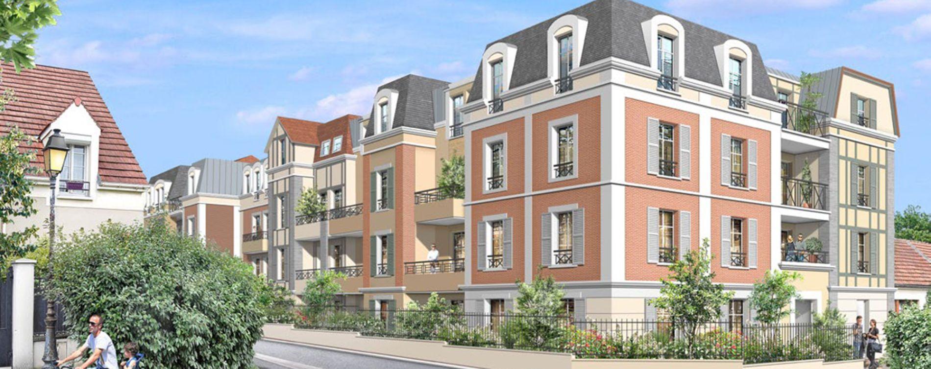 Villiers-sur-Marne : programme immobilier neuve « Partition » en Loi Pinel (2)
