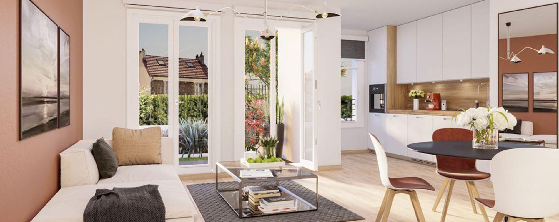 Villiers-sur-Marne : programme immobilier neuve « Partition » en Loi Pinel (3)