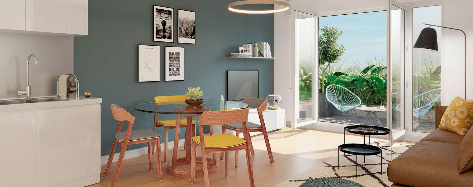Villiers-sur-Marne : programme immobilier neuve « Stella » (2)