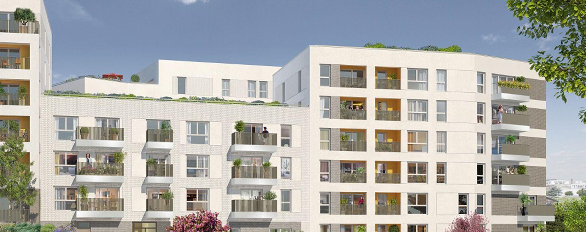 Vitry-sur-Seine : programme immobilier neuve « Carré Watteau »