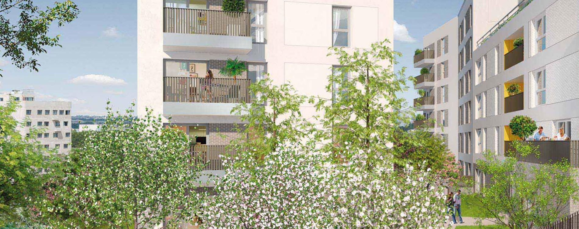 Vitry-sur-Seine : programme immobilier neuve « Carré Watteau » (2)