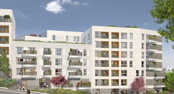 Photo du Résidence « Carré Watteau » programme immobilier neuf en Loi Pinel à Vitry-sur-Seine