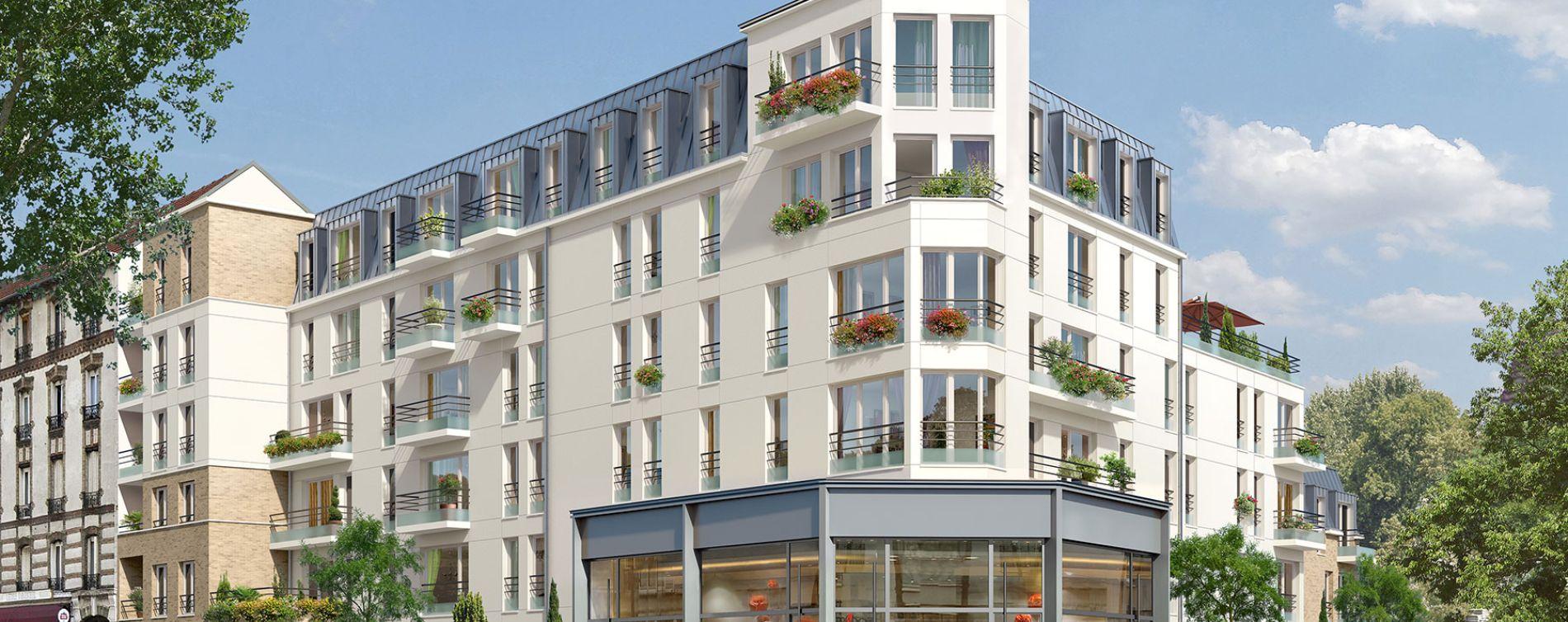 Argenteuil : programme immobilier neuve « Caractère » en Loi Pinel