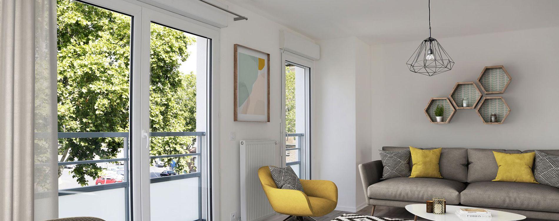 Argenteuil : programme immobilier neuve « Caractère » en Loi Pinel (3)