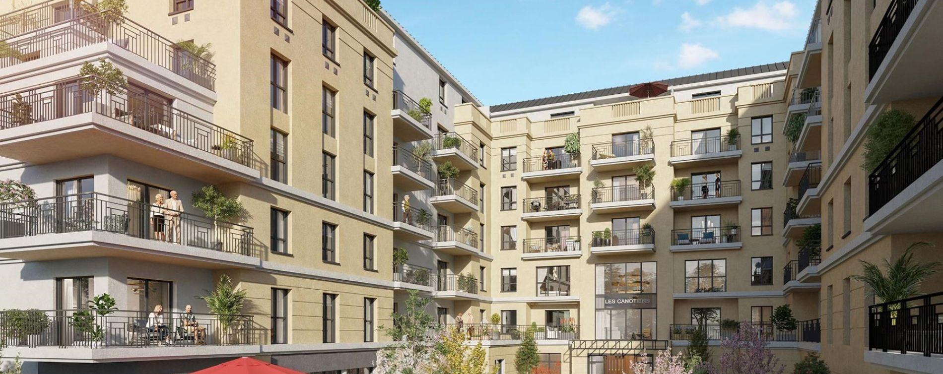 Argenteuil : programme immobilier neuve « Les Canotiers »