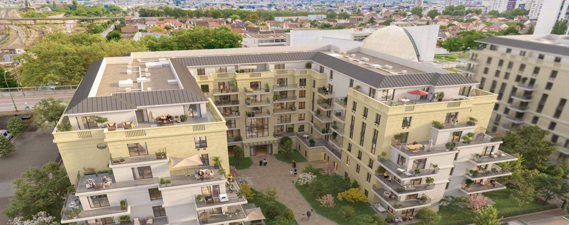 Argenteuil : programme immobilier neuve « Les Canotiers » (2)