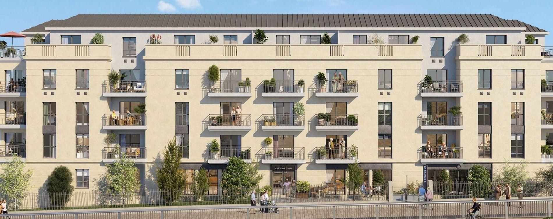 Argenteuil : programme immobilier neuve « Les Canotiers » (3)