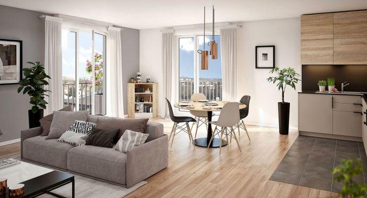 Résidence « Variations » programme immobilier neuf en Loi Pinel à Argenteuil n°4