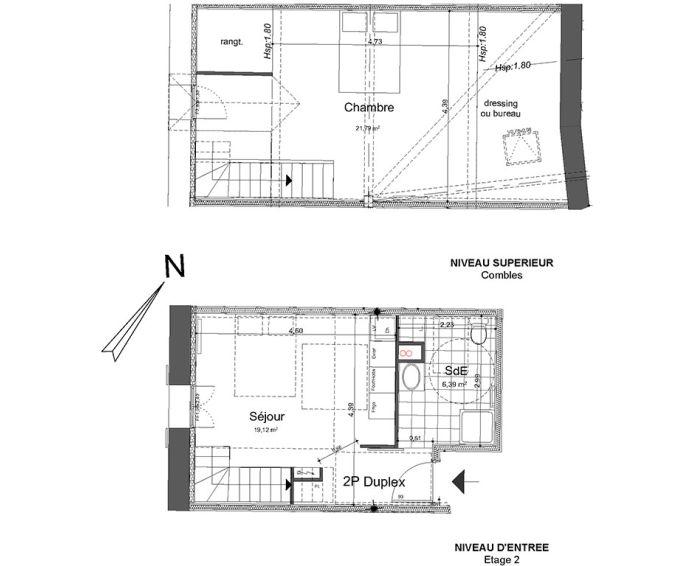 Plan T4 neuf à Beaumont-sur-Oise de