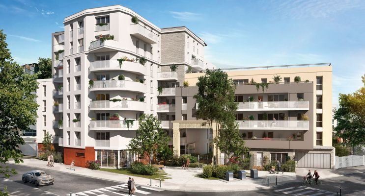 Bezons programme immobilier neuf « Amplitude