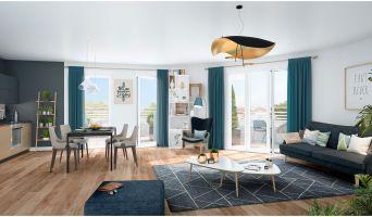 Résidence « Clos Fleuri » programme immobilier neuf en Loi Pinel à Bezons n°1