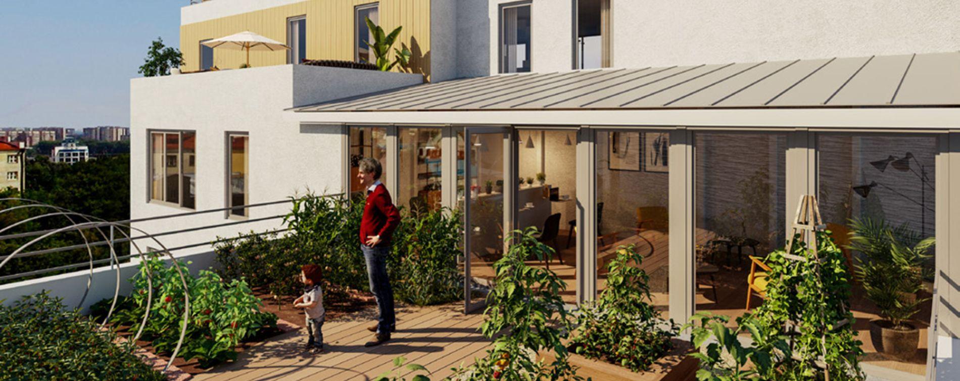 Résidence Les Jardins Suspendus à Bezons