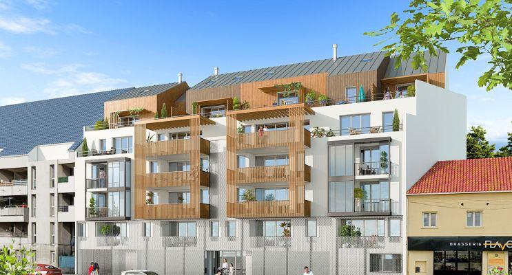 Bezons : programme immobilier neuf « Les Jardins Suspendus » en Loi Pinel