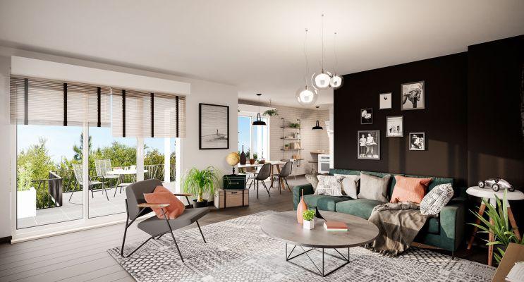 Résidence « Prisme » programme immobilier neuf en Loi Pinel à Bezons n°1