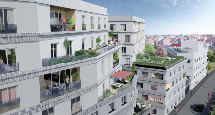 Résidence « Prisme » programme immobilier neuf en Loi Pinel à Bezons n°3