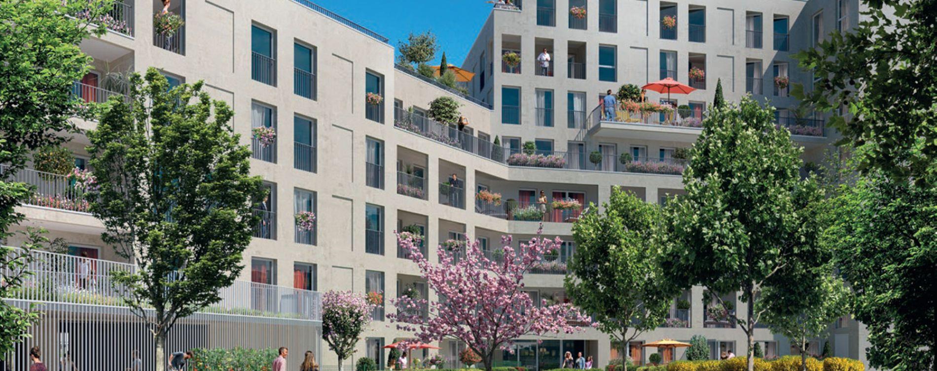 Bezons : programme immobilier neuve « Sequana »