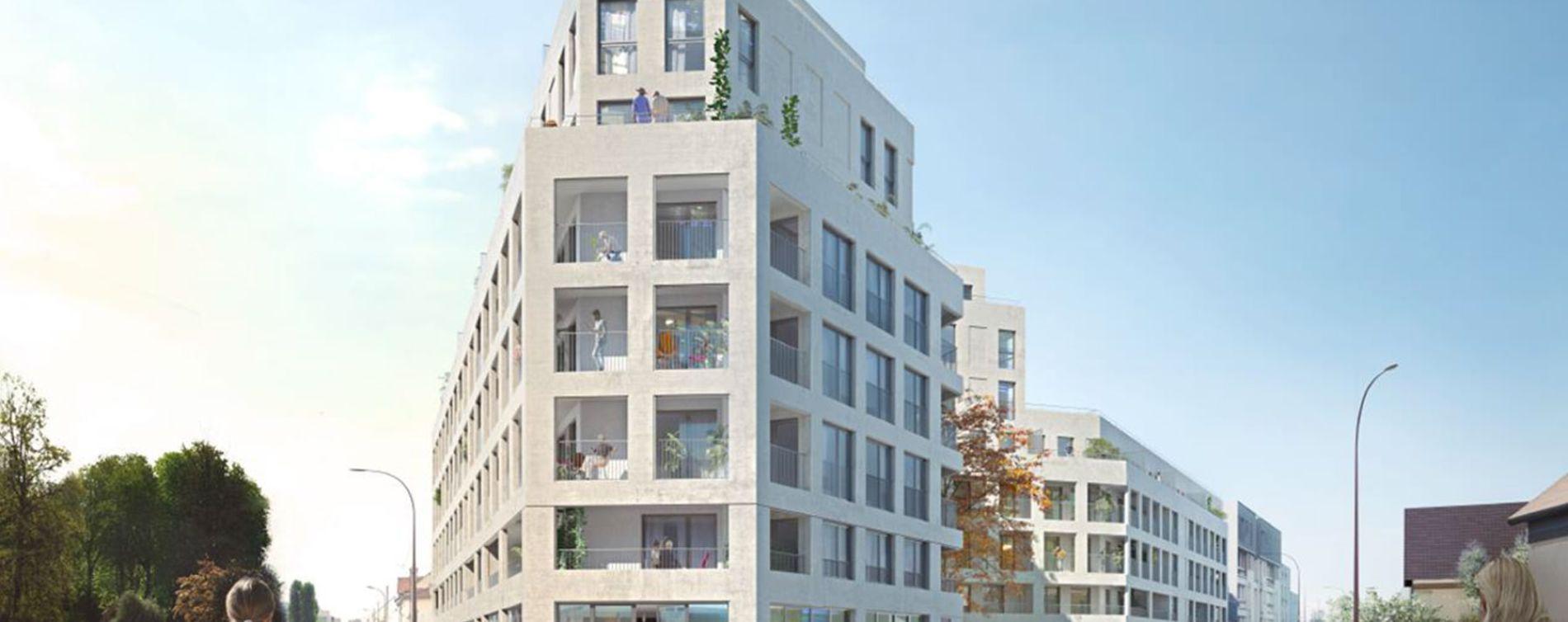 Bezons : programme immobilier neuve « Sequana » (2)