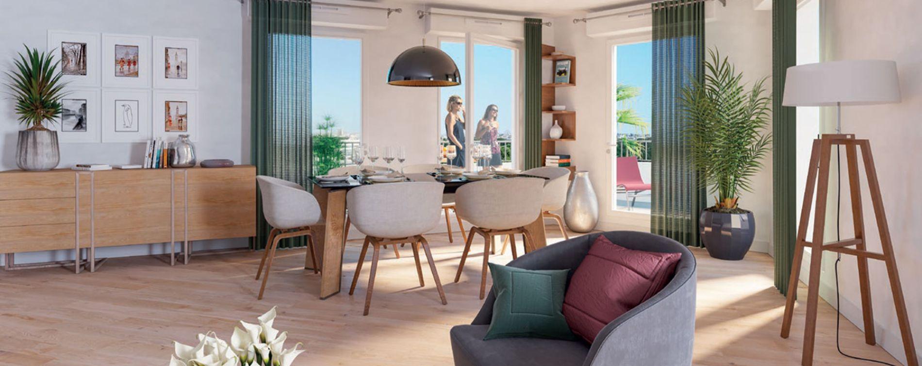 Bezons : programme immobilier neuve « Sequana » (3)