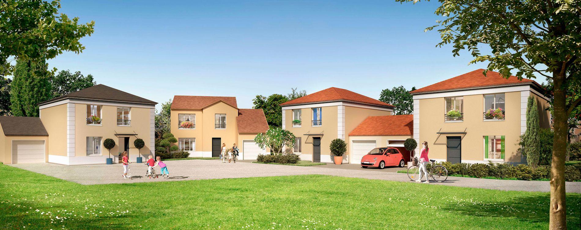 Bruyères-sur-Oise : programme immobilier neuve « Le Clos des Chanterelles »