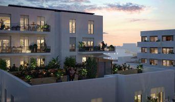 Cergy programme immobilier neuve « Angle de Vue » en Loi Pinel  (2)