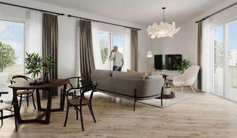 Cergy programme immobilier neuve « Angle de Vue » en Loi Pinel  (3)