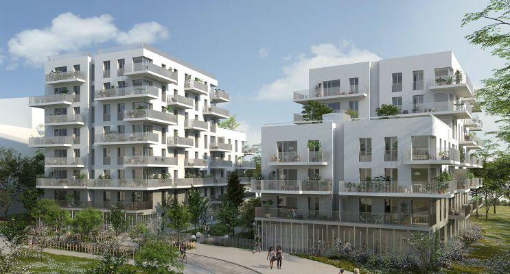 Cergy programme immobilier neuf « Angle de Vue » en Loi Pinel