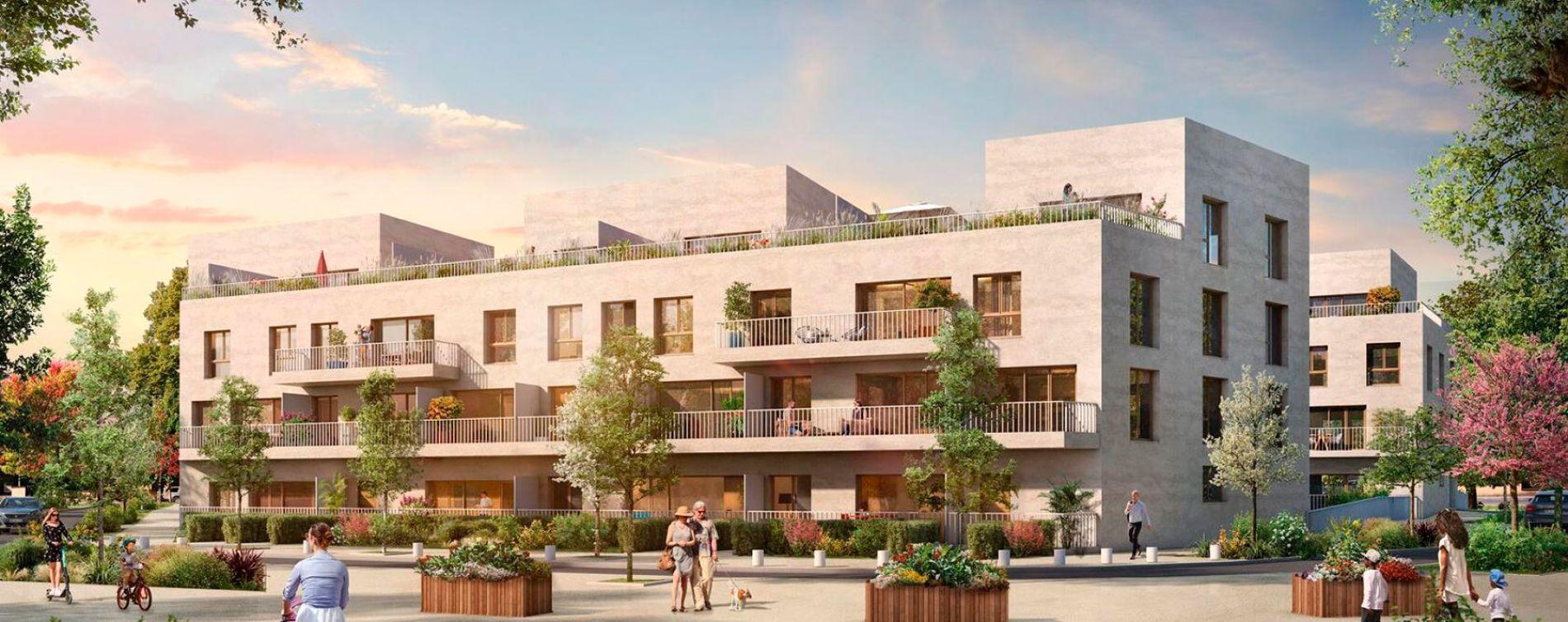 Cergy : programme immobilier neuve « Programme immobilier n°217998 » en Loi Pinel