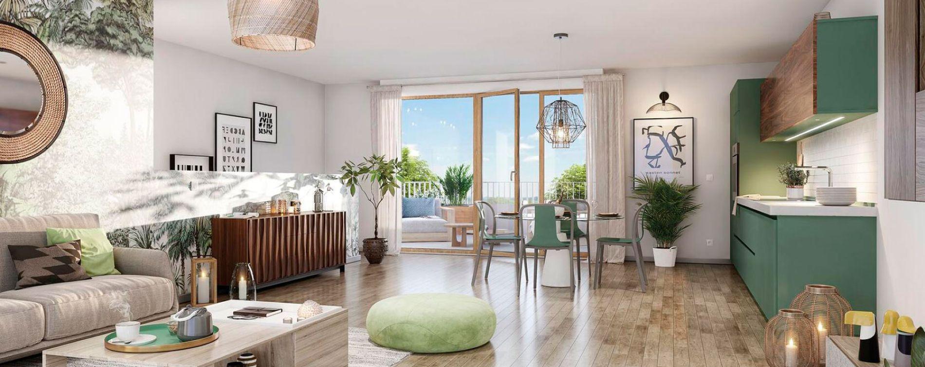 Cergy : programme immobilier neuve « Programme immobilier n°217998 » en Loi Pinel (4)