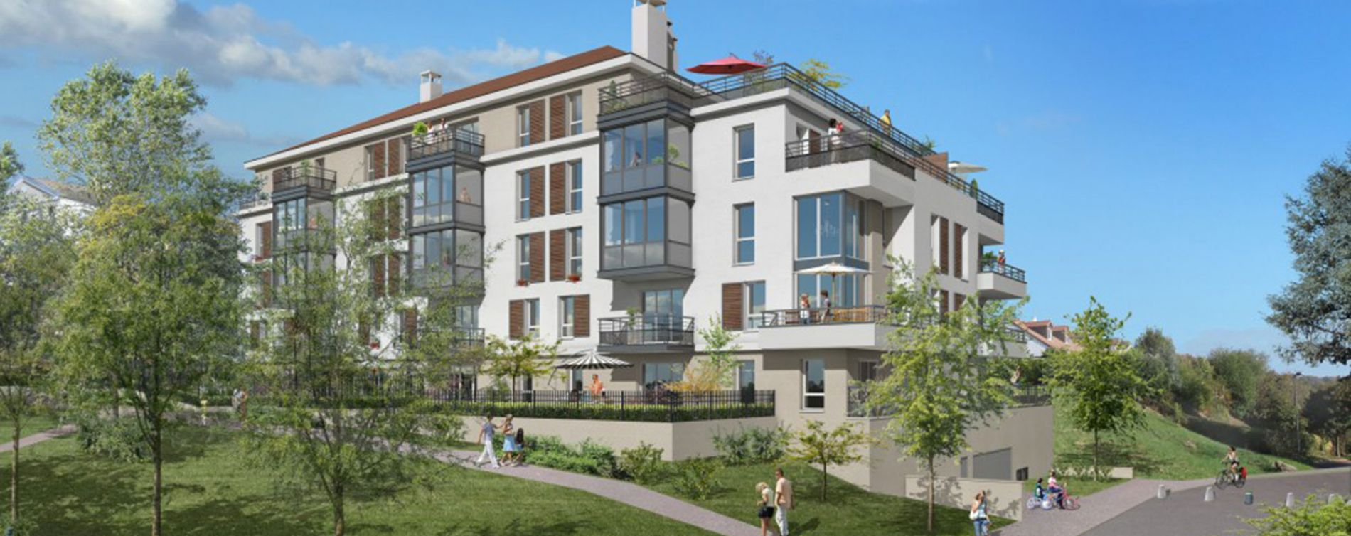 Cergy : programme immobilier neuve « Belvédère » en Loi Pinel