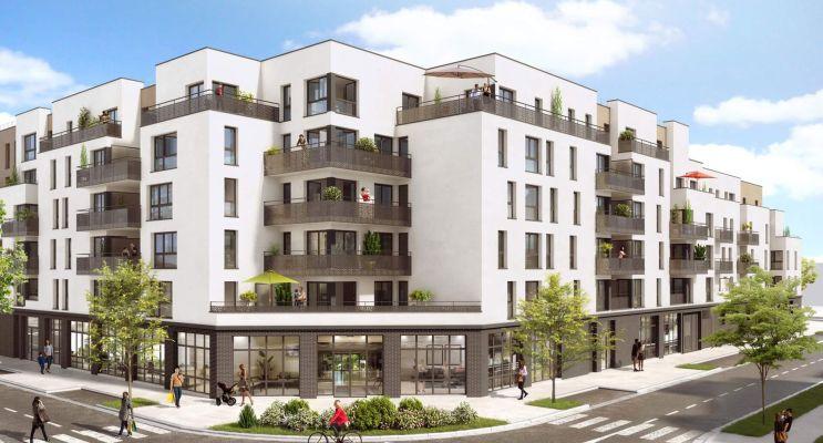 Cergy : programme immobilier neuf « New Villa Genottes » en Loi Pinel