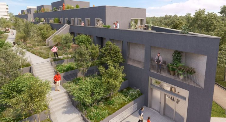 Photo du Résidence « Prisme » programme immobilier neuf en Loi Pinel à Cergy