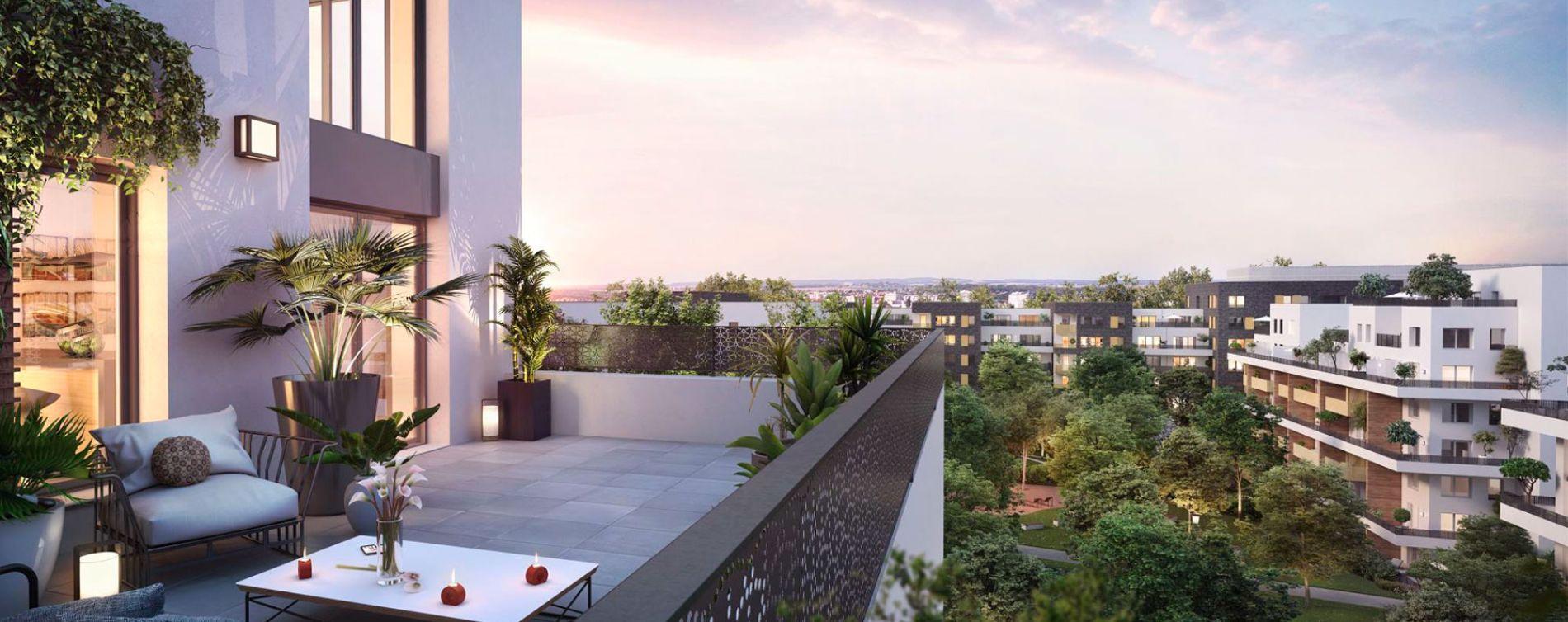 Cergy : programme immobilier neuve « Ville Nature » en Loi Pinel