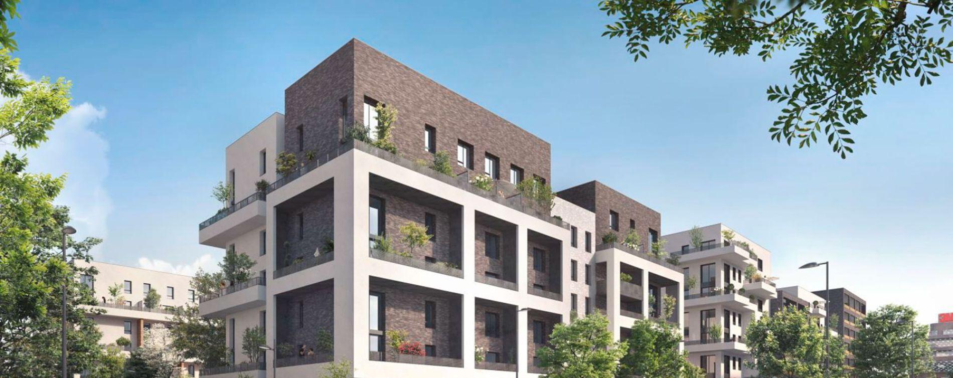 Cergy : programme immobilier neuve « Ville Nature » en Loi Pinel (2)
