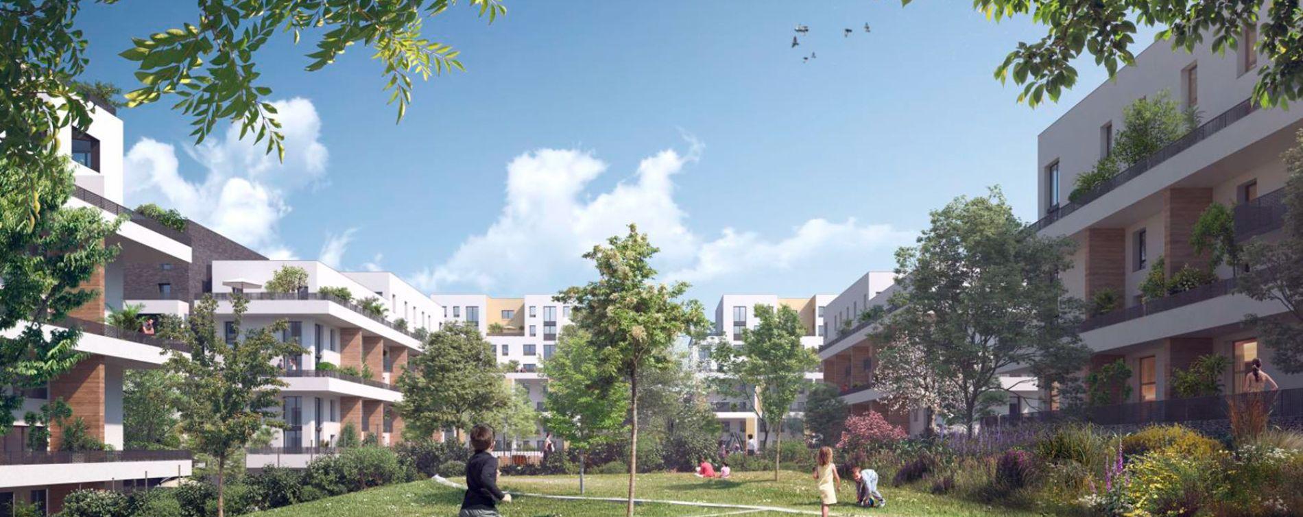Cergy : programme immobilier neuve « Ville Nature » en Loi Pinel (3)