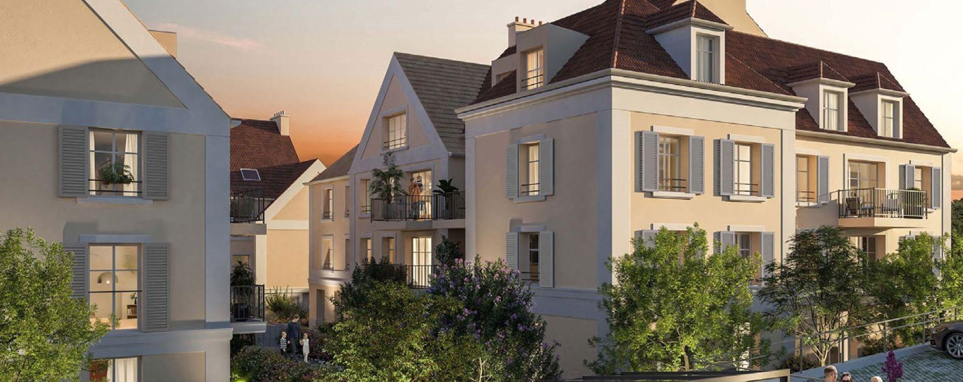 Cormeilles-en-Parisis : programme immobilier neuve « Castel Vignon » en Loi Pinel