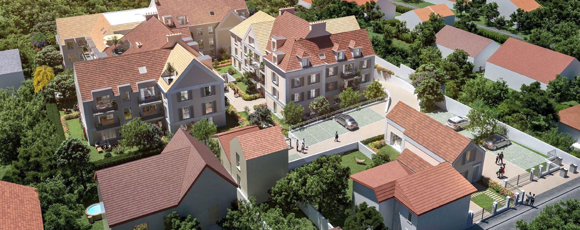 Cormeilles-en-Parisis : programme immobilier neuve « Castel Vignon » en Loi Pinel (2)