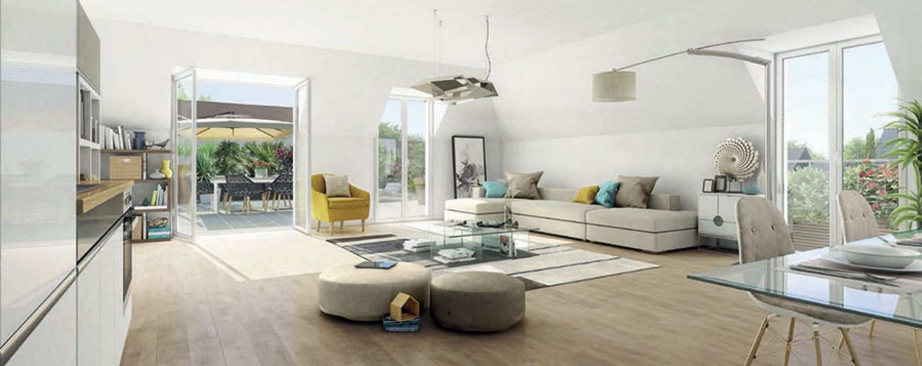 Domont : programme immobilier neuve « Programme immobilier n°212738 » (3)