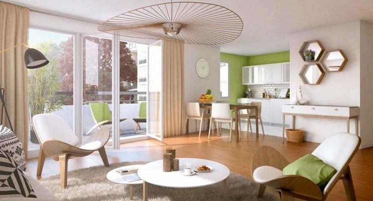 Photo n°4 du Résidence « Le Clos Boisé » programme immobilier neuf en Loi Pinel à Eaubonne