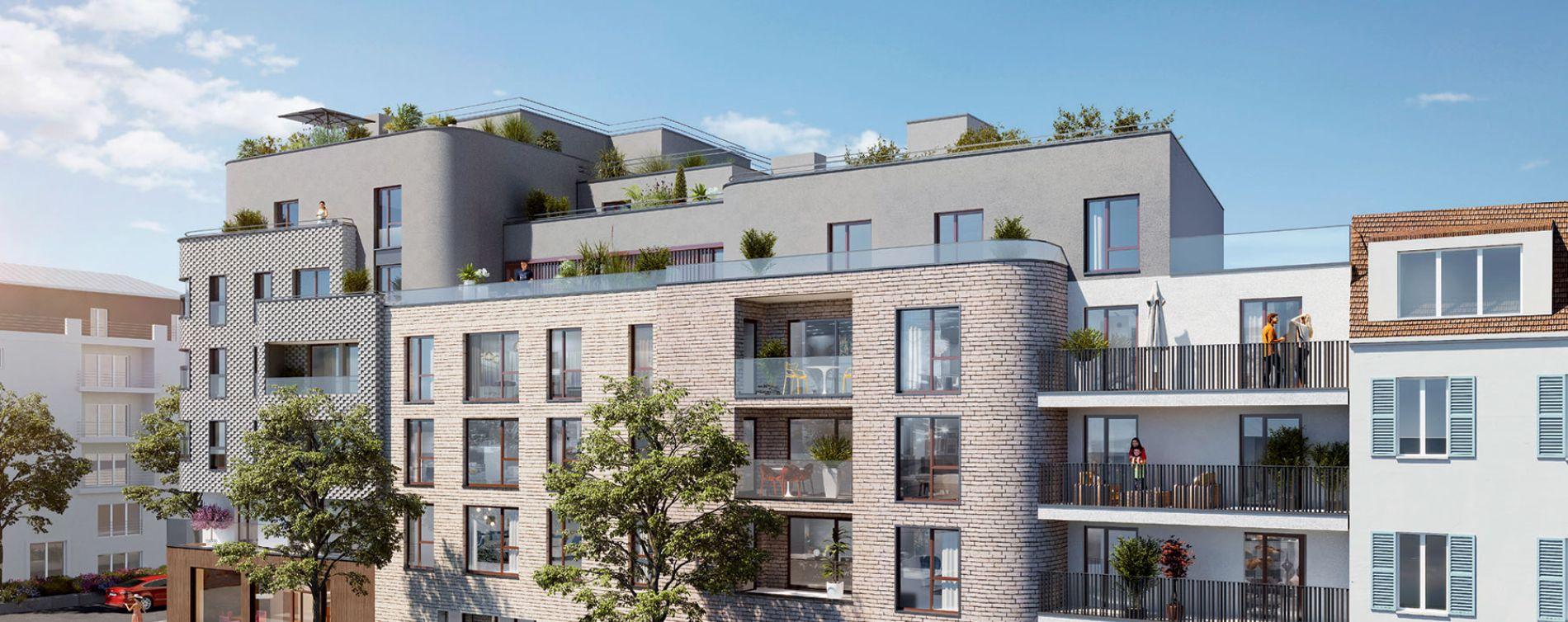 Enghien-les-Bains programme immobilier neuve « Lac en Scène » en Loi Pinel
