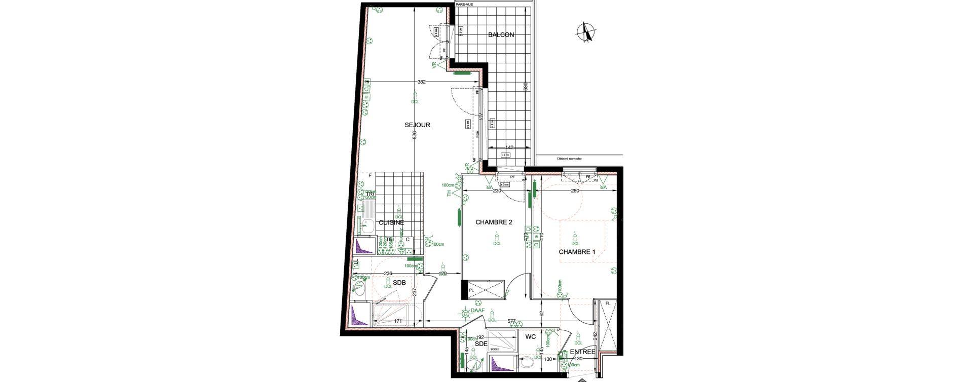 Plan T3 neuf à Franconville de