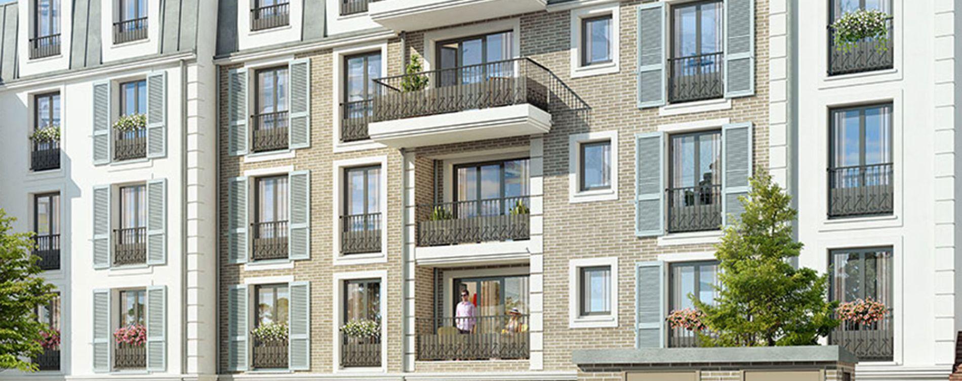 Franconville : programme immobilier neuve « Le Quatuor » en Loi Pinel