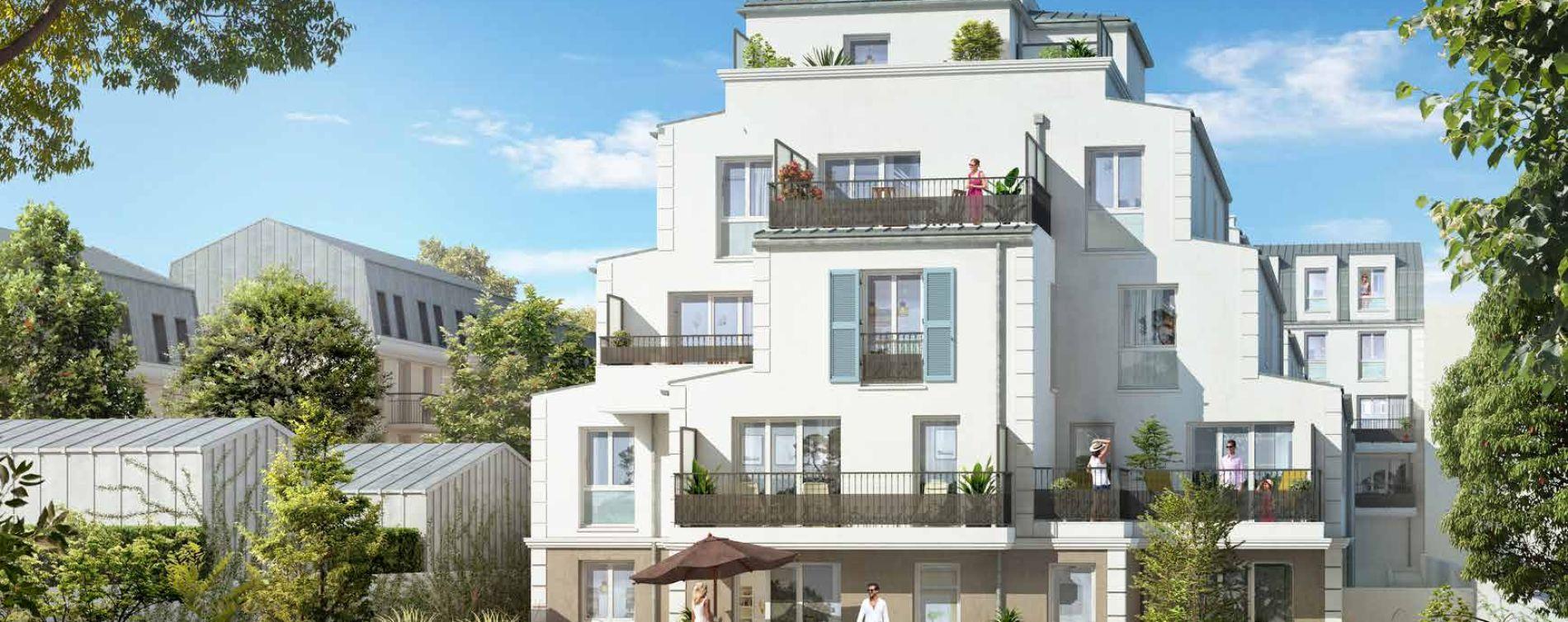 Franconville : programme immobilier neuve « Le Quatuor » en Loi Pinel (2)