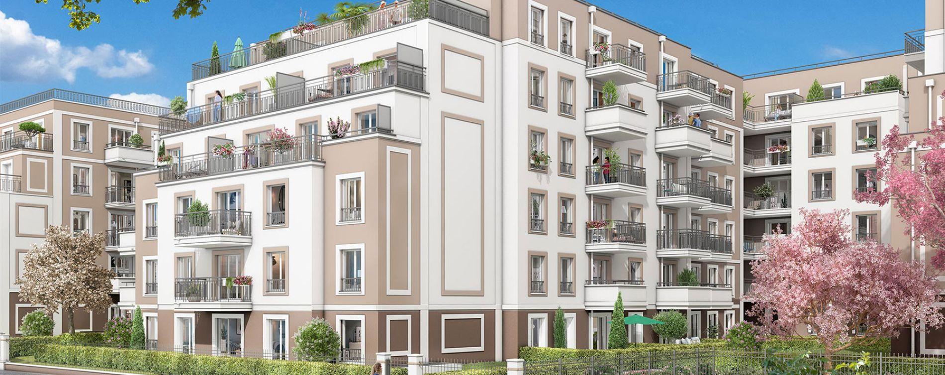 Franconville : programme immobilier neuve « L'Unique » en Loi Pinel (4)